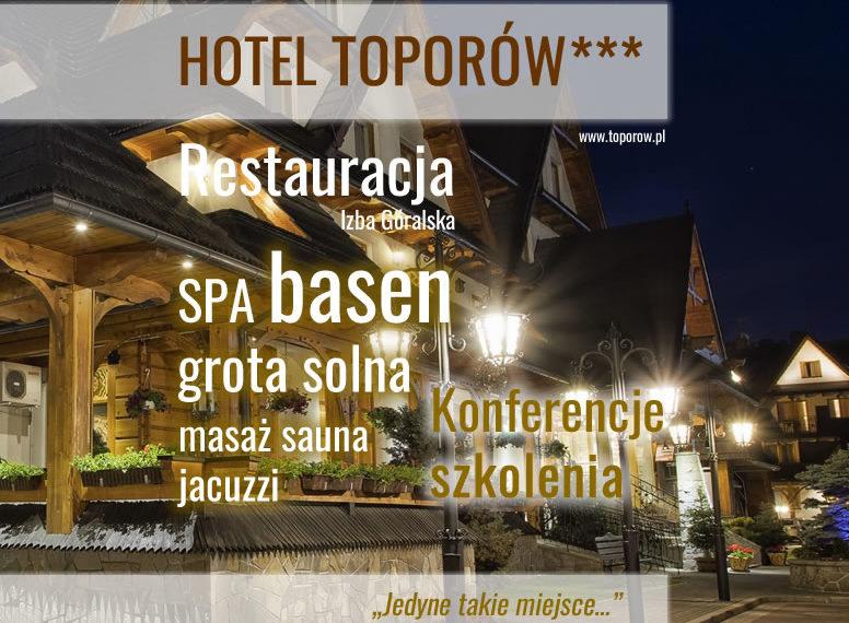 HOTEL TOPORÓW Z BASENEM