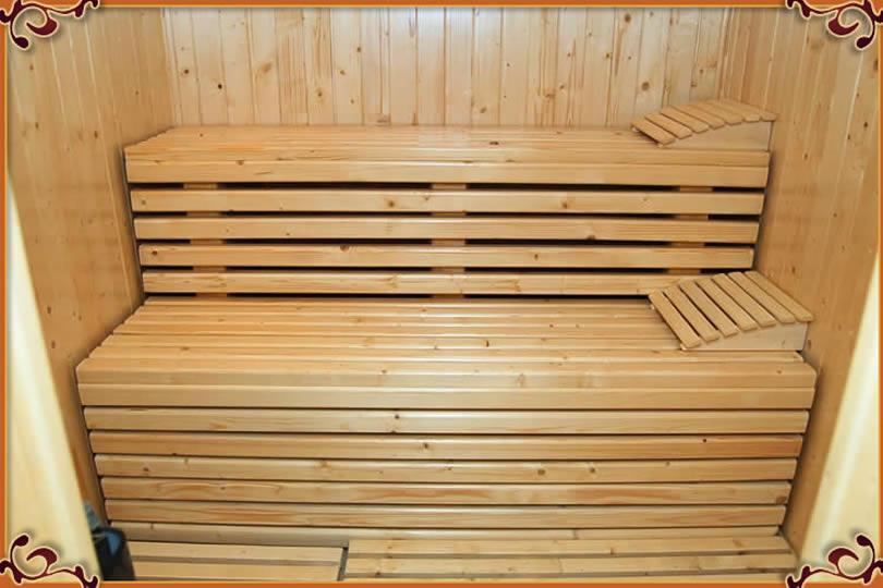wolny pokój sauna