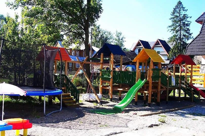 Białka Tatrzańska plac zabaw dla dzieci