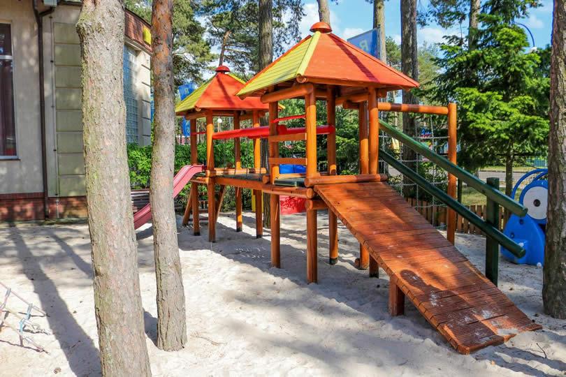 Atrakcje  dla dzieci pokoje Relaks Łeba