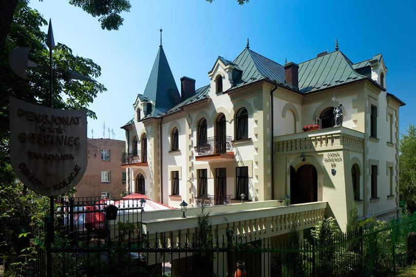 Zamek Dersława Busko Zdrój
