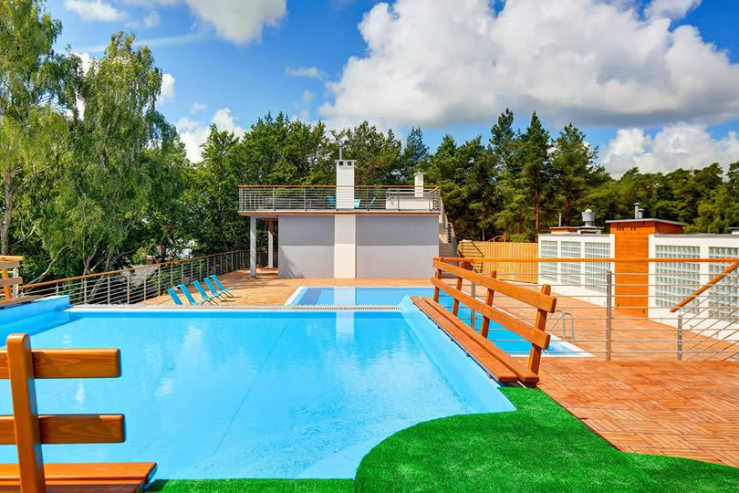 Apartamenty basen Poddąbie blisko morza dla rodzin