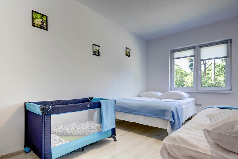 Apartamenty basen Poddąbie blisko morza dla dzieci